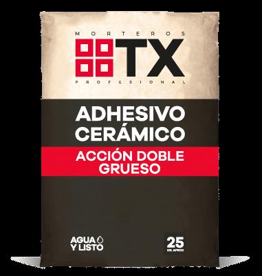 ADHESIVO CERÁMICO ACCION DOBLE GRUESO