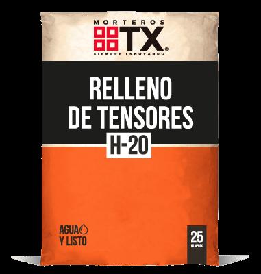 RELLENO DE TENSORES H-20
