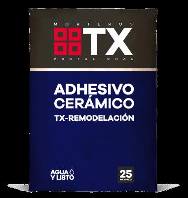 ADHESIVO CERÁMICO TX REMODELACIÓN