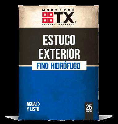 ESTUCO EXTERIOR FINO HIDROFUGO
