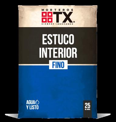 ESTUCO INTERIOR FINO