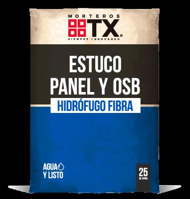 ESTUCO PANEL Y OSB HIDRÓFUGO FIBRA