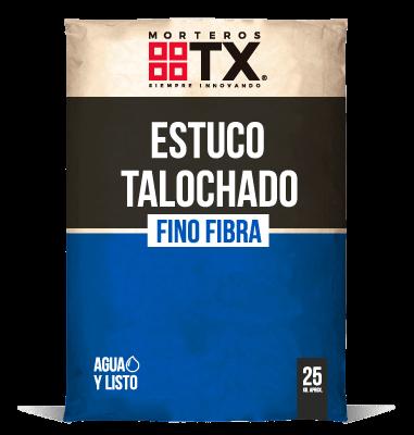 ESTUCO TALOCHADO FINO FIBRA