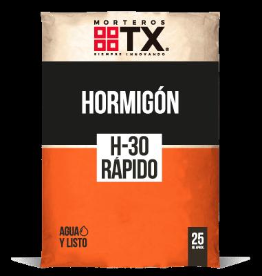 HORMIGÓN H-30 RÁPIDO