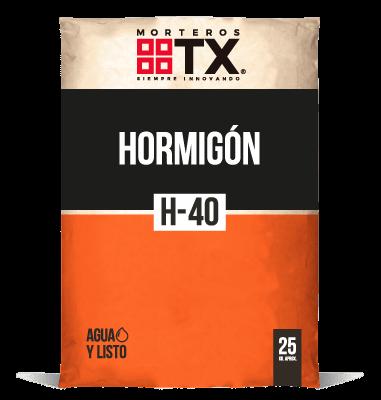 HORMIGÓN H-40
