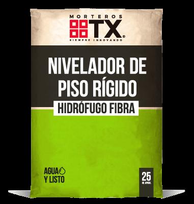 NIVELADOR DE PISO RIGIDO HIDROFUGO FIBRA
