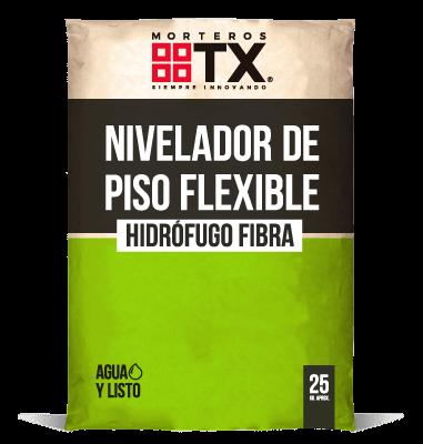 NIVELADOR DE PISO FLEXIBLE HIDROFUGO FIBRA