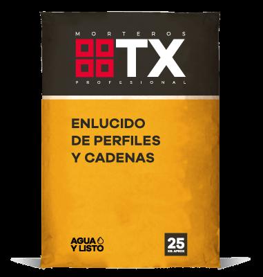 ENLUCIDO DE PERFILES Y CADENAS