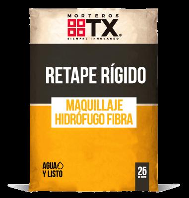 RETAPE RÍGIDO MAQUILLAJE HIDROFUGO FIBRA