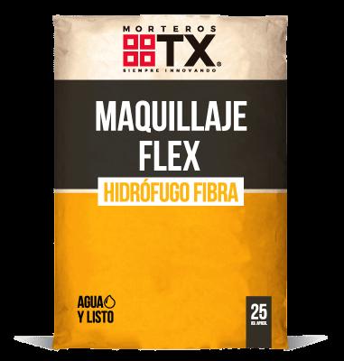 MAQUILLAJE FLEX HIDROFUGO FIBRA