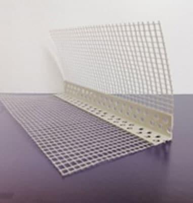 Perfil Malla Esquinero PVC